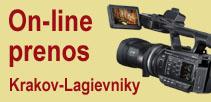 On-line vysielanie zo svätyne<br>v Krakove-Łagiewniki